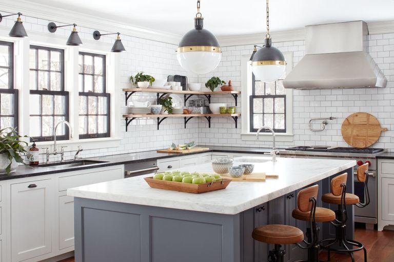 Marmer aanrechtblad en keukenblad ideeën met voorbeelden