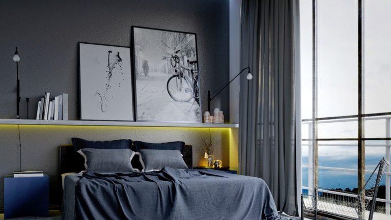 50 Slaapkamer Ideeën Voor Mannen