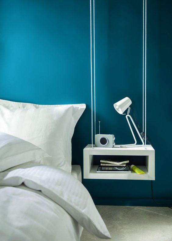 hangende nachtkast ideeën en voorbeelden