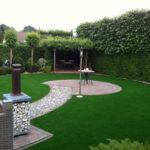 kunstgras tuin idee voor voortuin, achtertuin, balkon, dakterras